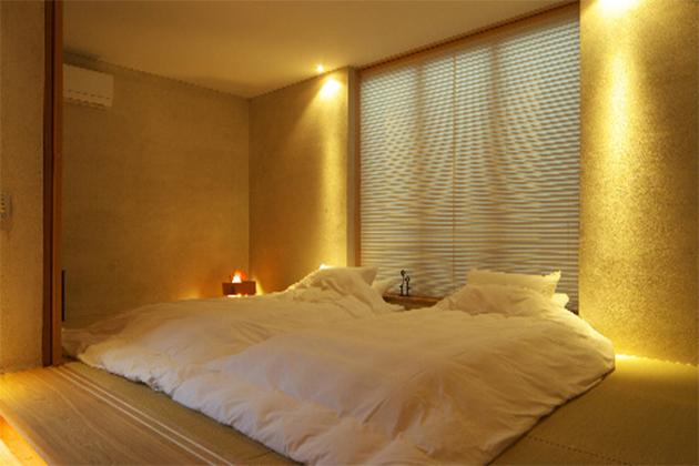 アジアンスイート寝室