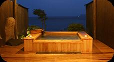 檜風呂付き客室